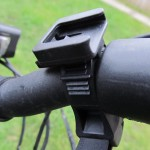 Removable Handlebar Mount in place