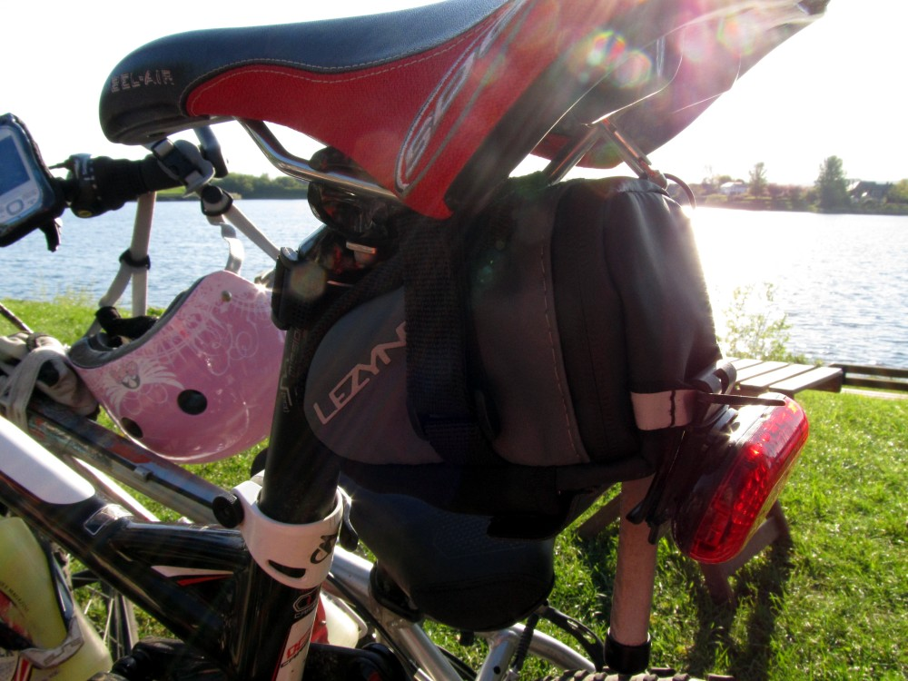 M-Caddy Saddlebag Fastening - Easy