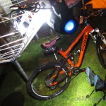 """Best use of bike light"" award winner 2014"