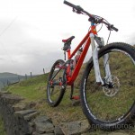 Beefy XFusion Sweep fork with 130-160mm travel